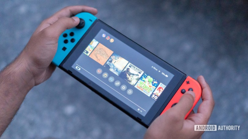 Handheld gaming mode