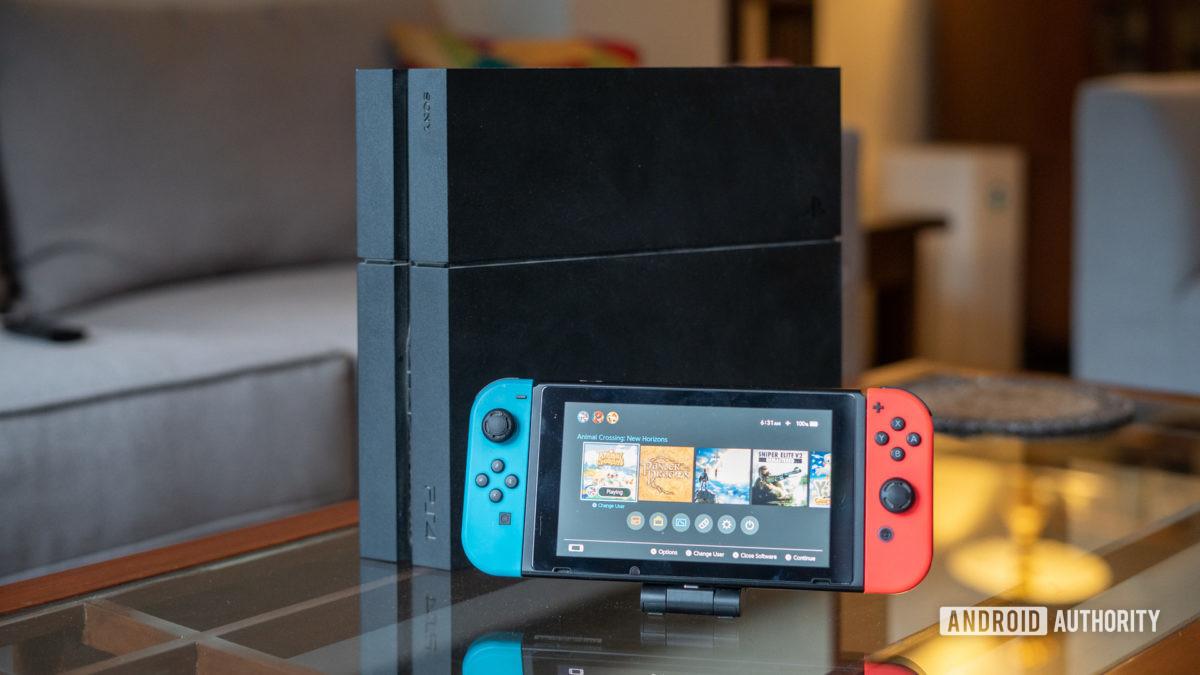 PlayStation 4 e Nintendo Switch
