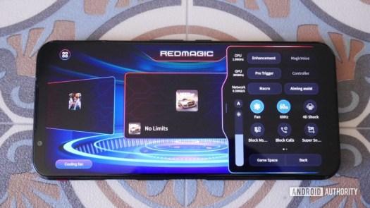RedMagic 5G 06 game mode menu
