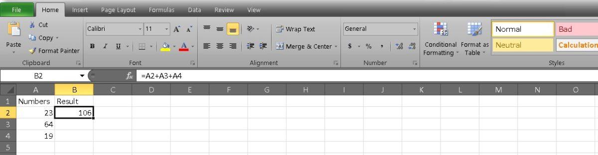 добавить ячейки в Excel 2