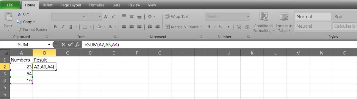 добавить ячейки в Excel 4