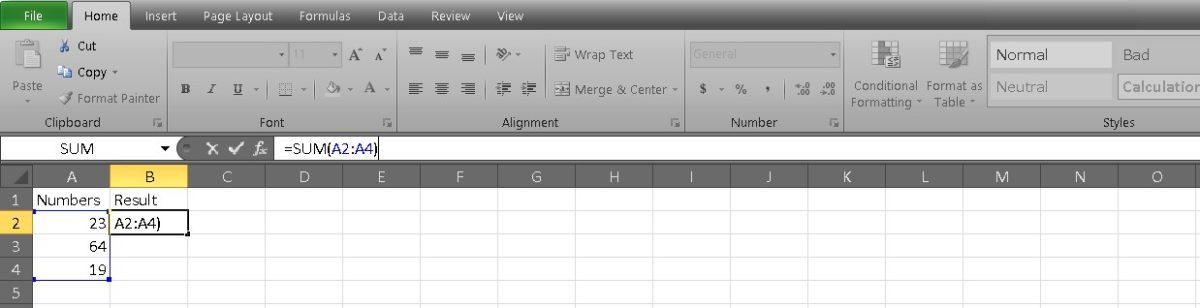 добавить ячейки в Excel 5