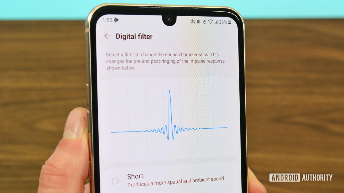 Цифровой фильтр LG Quad DAC