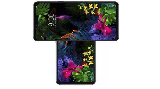 LG Rotating Display Phone Representational Design