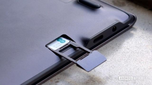 Лоток для SIM-карты Samsung Galaxy Book S