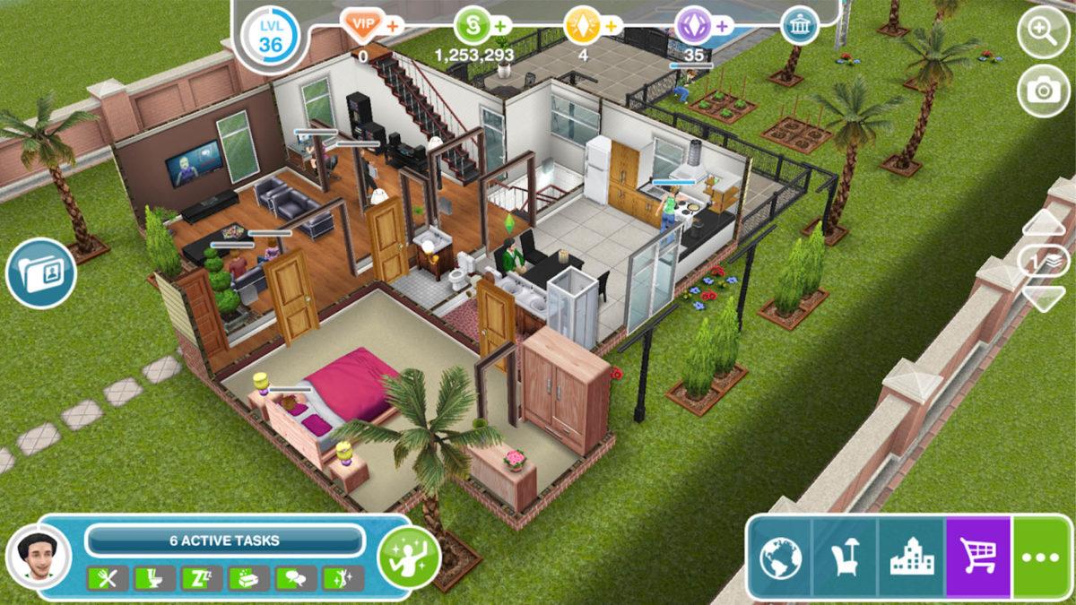 The Sims FreePlay лучшие симуляторы жизни для Android