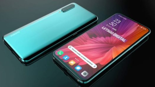 Xiaomi under screen camera phone concept based on patent