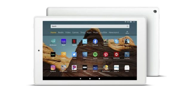 amazon fire 10 hd планшет