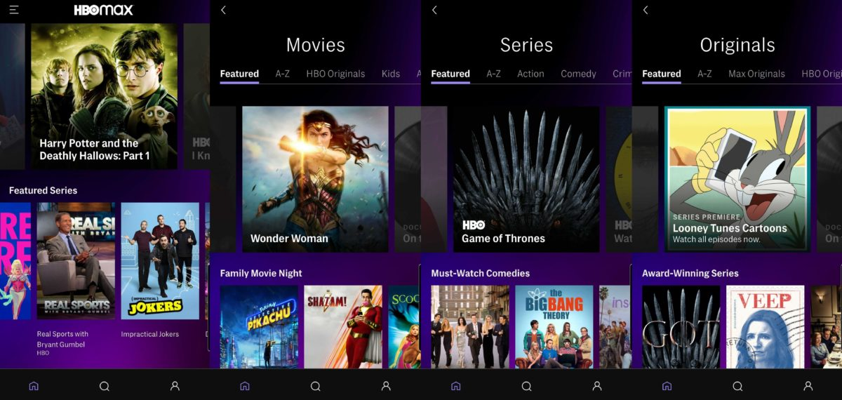 hbo max android