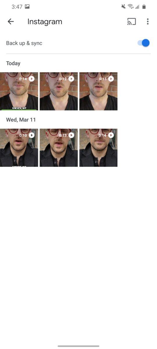 Инструкции по резервному копированию в Google Фото 2