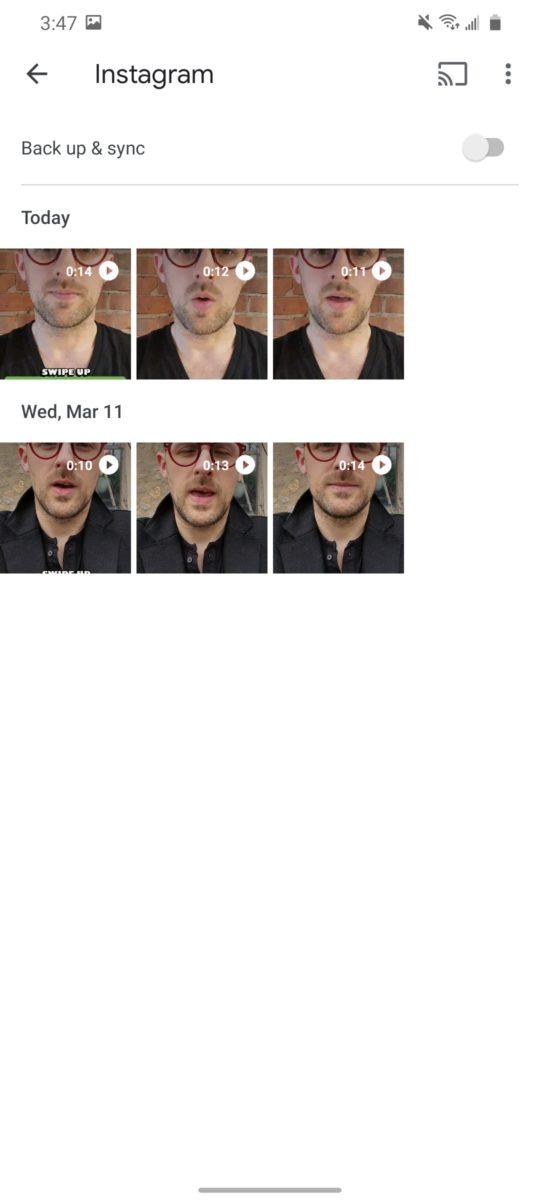Инструкции по резервному копированию в Google Фото 3