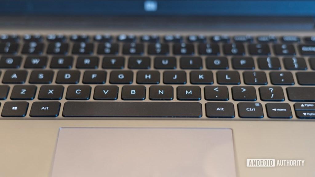 MI Notebook 14 Horizon с клавиатурой и трекпадом