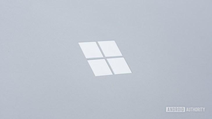 Microsoft Surface Book 3 Microsoft logo