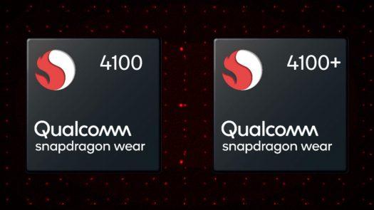 Qualcomm Wear 4100 versus Plus
