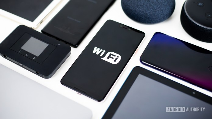Wi Fi devices stock photo 1
