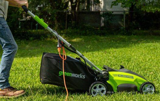 greenworks mower best lawn mower deals