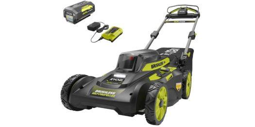 ryobi 20 inch 40 volt mower