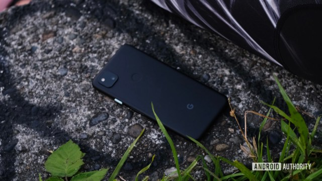 Google Pixel 4a back down to zoom 1