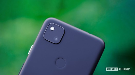 Google Pixel 4a review header