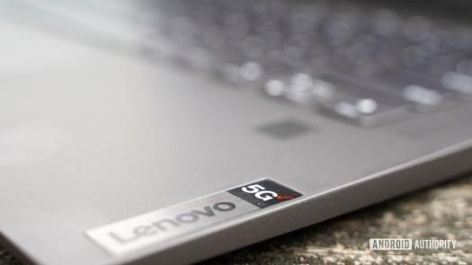 Lenovo Flex 5G 5g branding