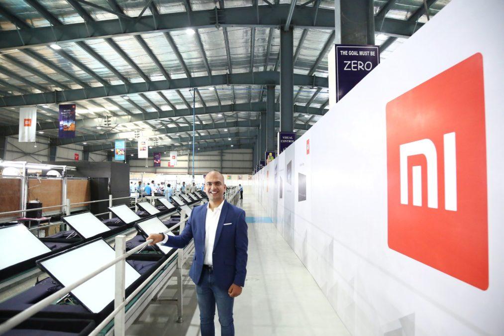 Mi TV модельный ряд Индии завод