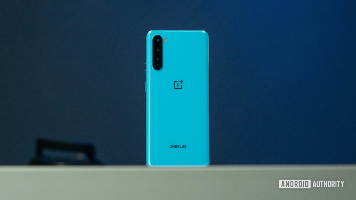 OnePlus Nord back side hero shot aceso