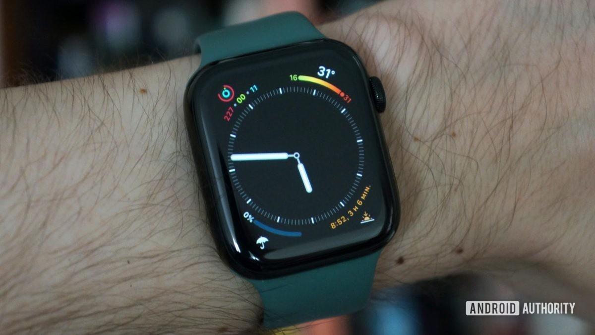 apple watch series 5 инфографика aa
