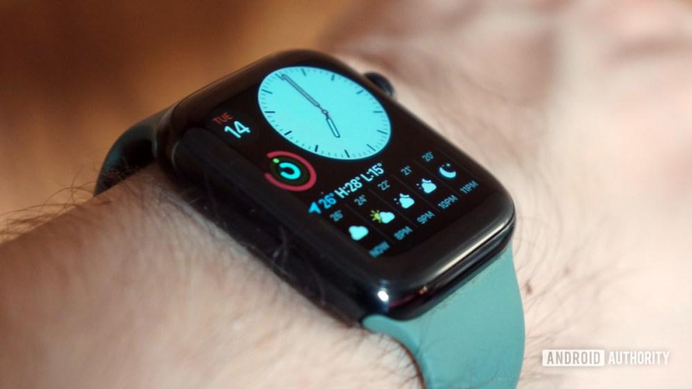 Apple Watch Series 5 Modular Compact Face