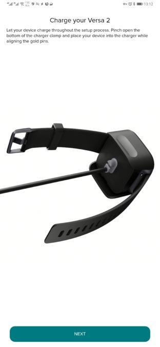 устройство для зарядки приложения fitbit