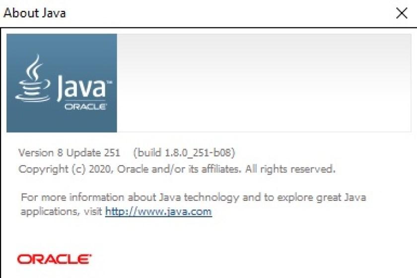 О Java Проверка Java версии 1