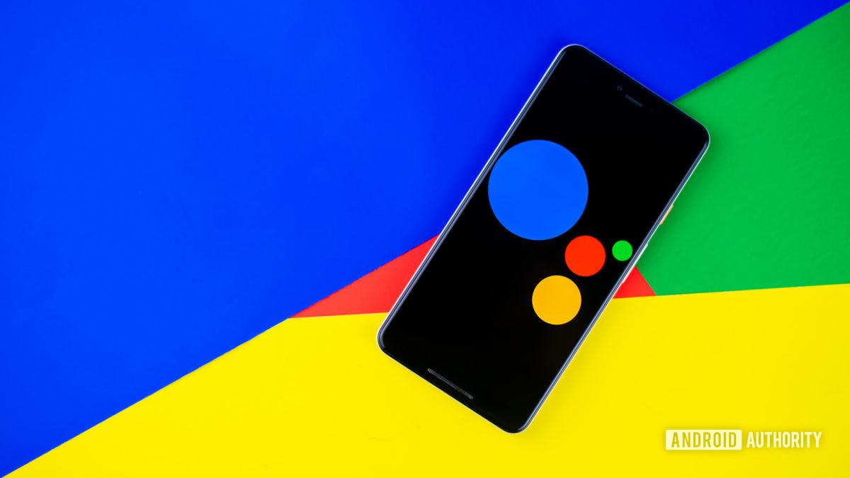 Стоковая фотография Google Ассистента 1