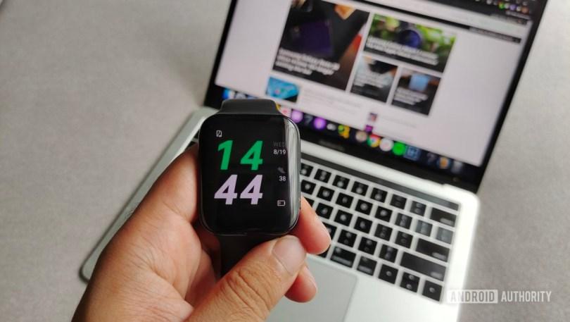 Oppo Watch power saver mode