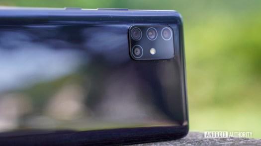 Samsung Galaxy A71 5G camera profile