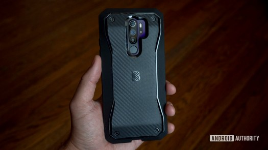 blu g90 pro review in hand gaming case