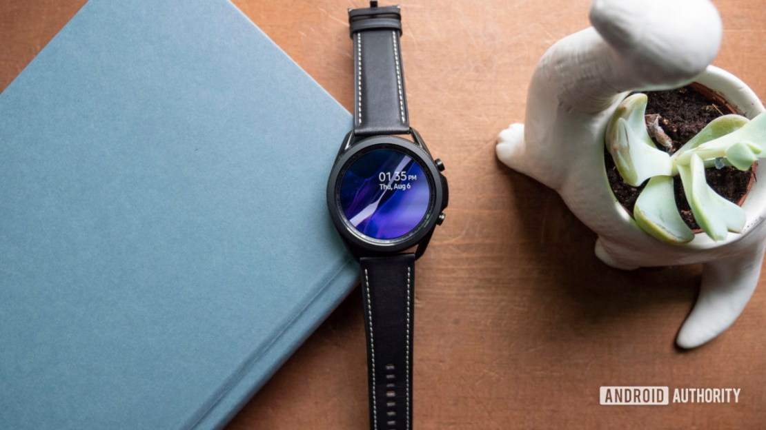 samsung galaxy watch 3 review on table