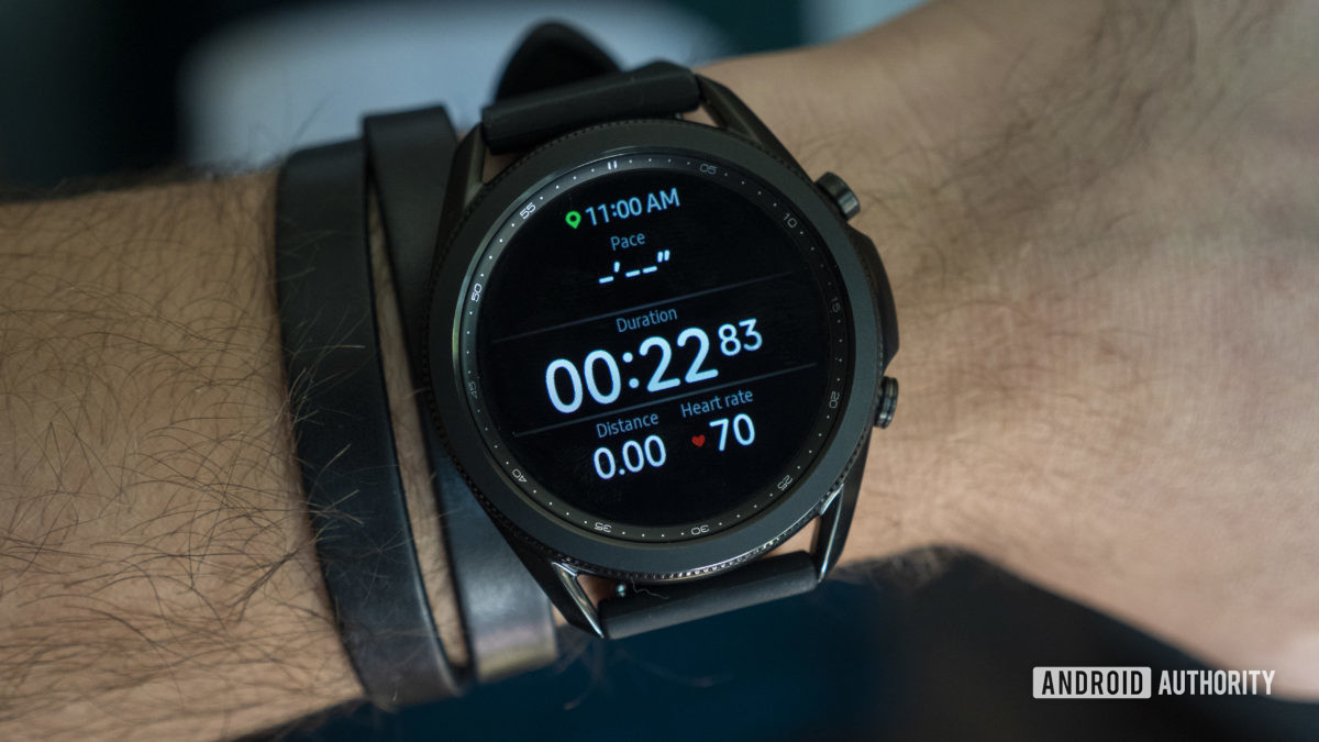 review of the samsung galaxy watch 3 workout running