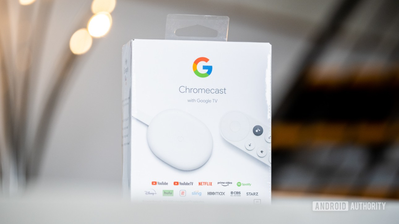 Google Chromecast с Google TV Box