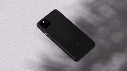 Google Pixel 4a 5G screenshot