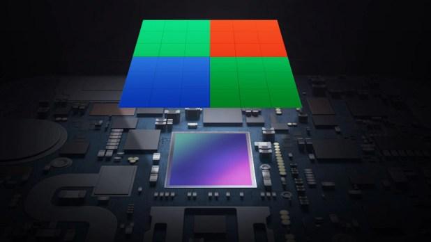 Samsung isocel pixel binning