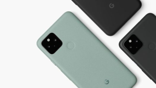google pixel 5 4a 5g overhead