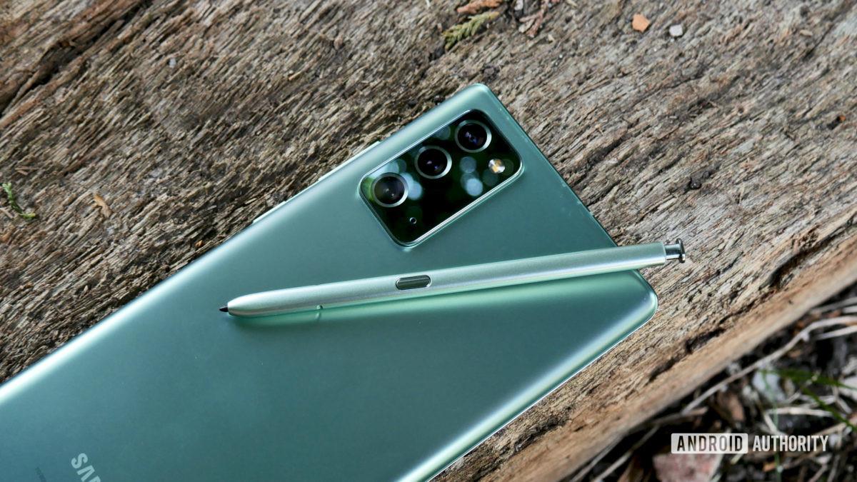 Samsung Galaxy Note 20 comentário herói 1