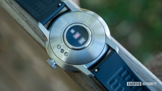 withings scanwatch review heart rate sensor