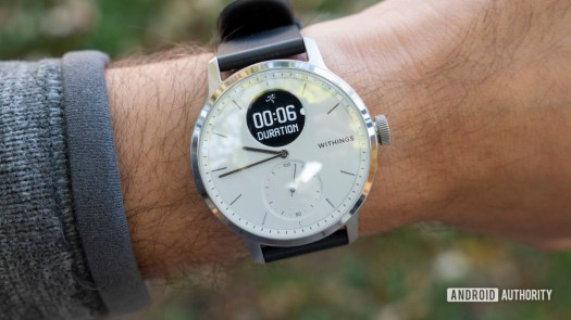 withings scanwatch review running duration exercise workout