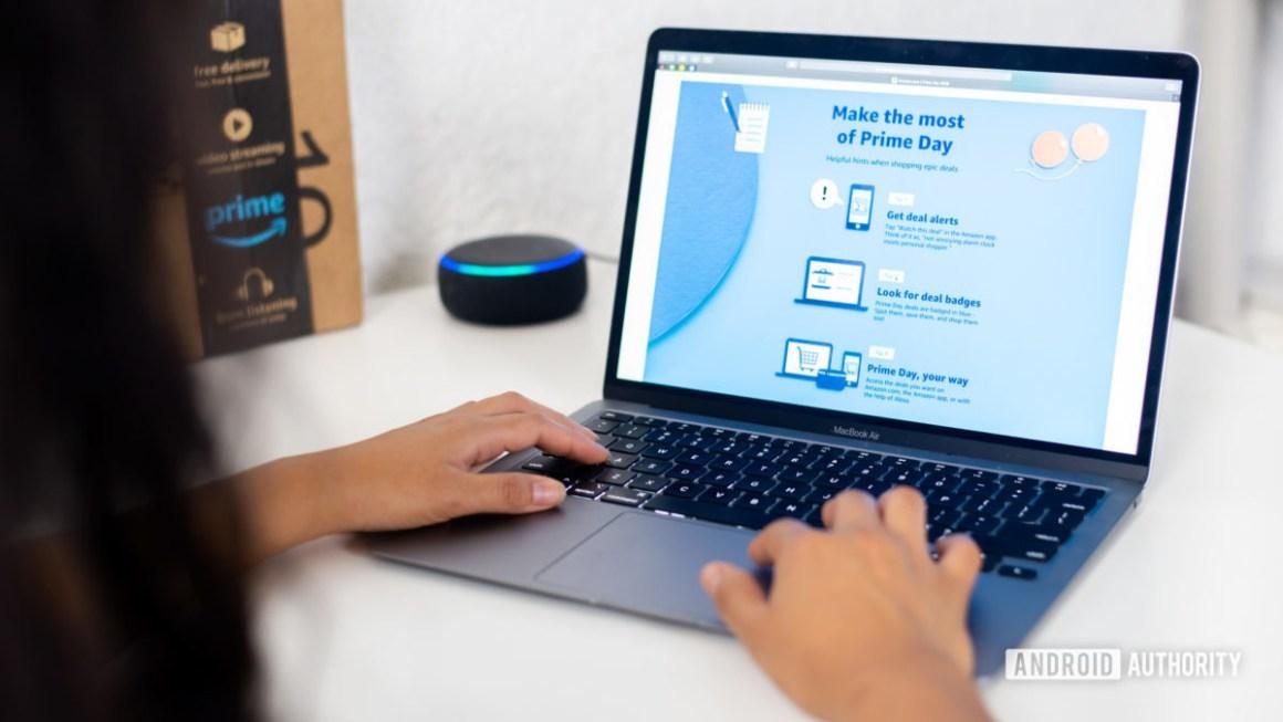 Amazon Prime Day покупки на ноутбуке 2