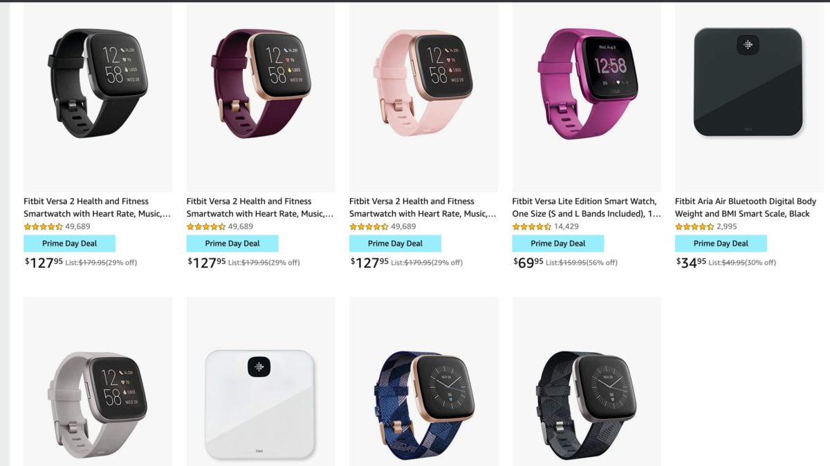 Fitbit Amazon Prime Day Deals