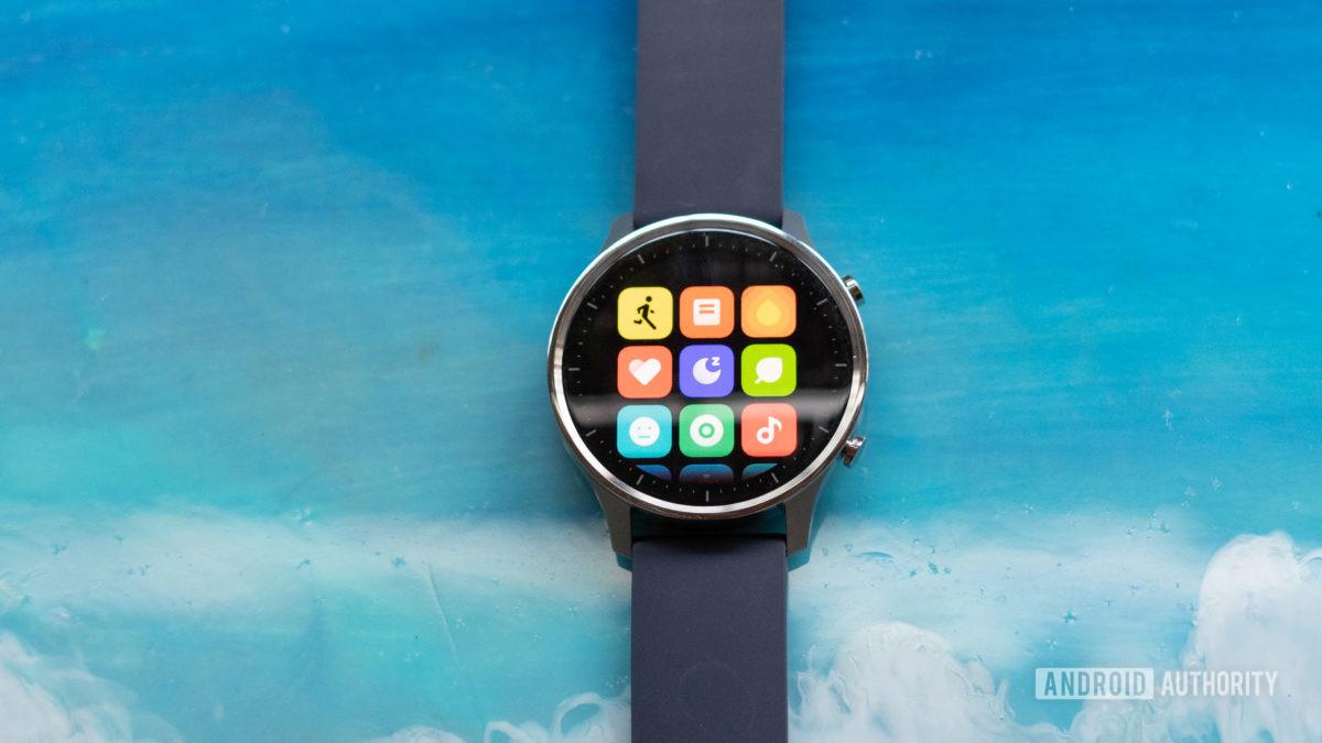 Mi Watch Revolve app drawer