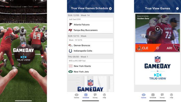 NFL Game Day in True View Screenshot