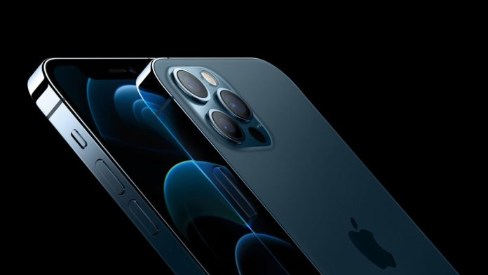 Apple iPhone 12 Pro Blau aa