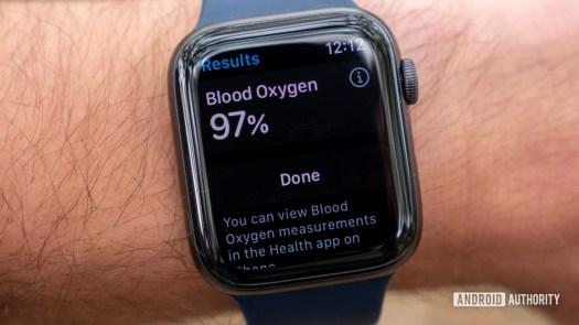 apple watch series 6 review blood oxygen results spo2