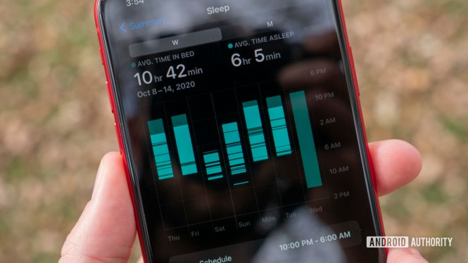 apple watch series 6 review sleep stats